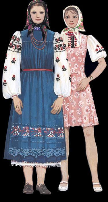 Українські народні костюми - Український Одяг - Український Сувенір 2315b771a78a5