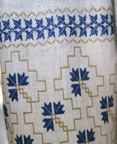 Волошки в житі - фагмент 2 - Одяг - Український Сувенір 967210f249693